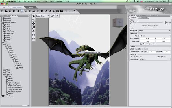 Daz 3D Studio