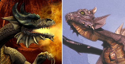 Dragon Comparison