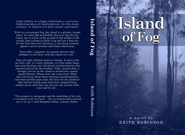 Full cover &ndash; <i>Island of Fog</i>, 1st edition