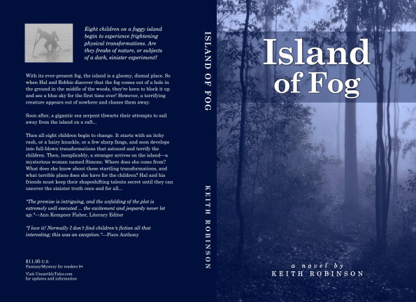 Full cover &ndash; <i>Island of Fog</i>