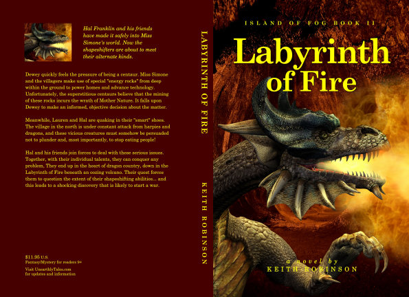 Full cover – Labyrinth of Fire