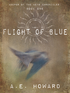Flight of Blue by A. E. Howard