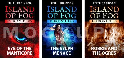 Island of Fog Chronicles – Mockups
