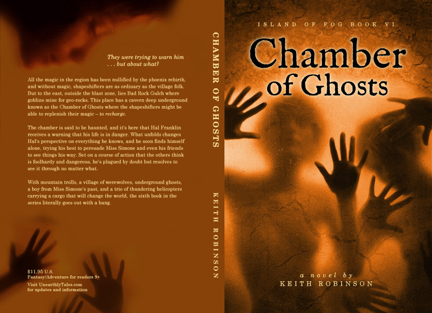 Chamber of Ghosts – full cover