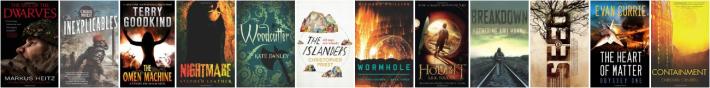 Random book covers