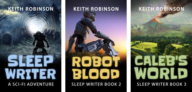 Sleep Writer – new covers