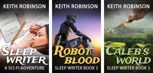 Sleep Writer – old covers