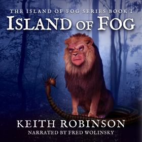 Island of Fog Audiobook Cover