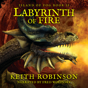 Labyrinth of Fire Audiobook Cover