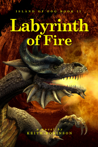 New cover for Labyrinth of Fire